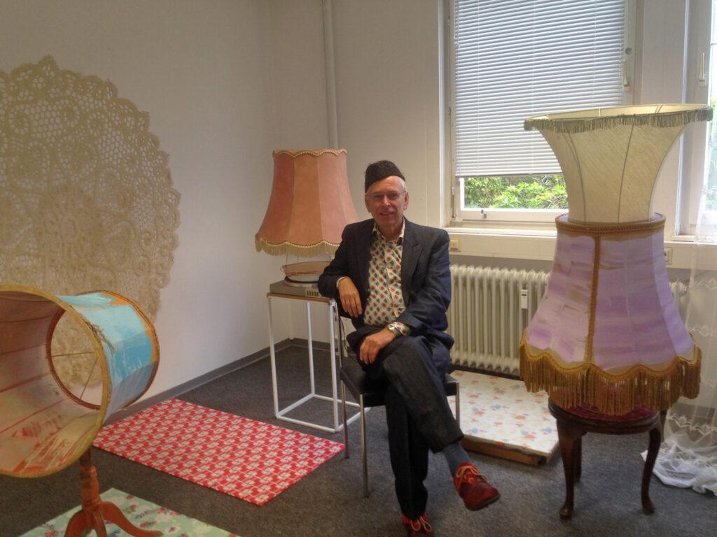 """""""Kammerspiele"""" Ausstellungsansicht   Galerie im Atelierhaus A24, Berg. Gladbach   2018"""