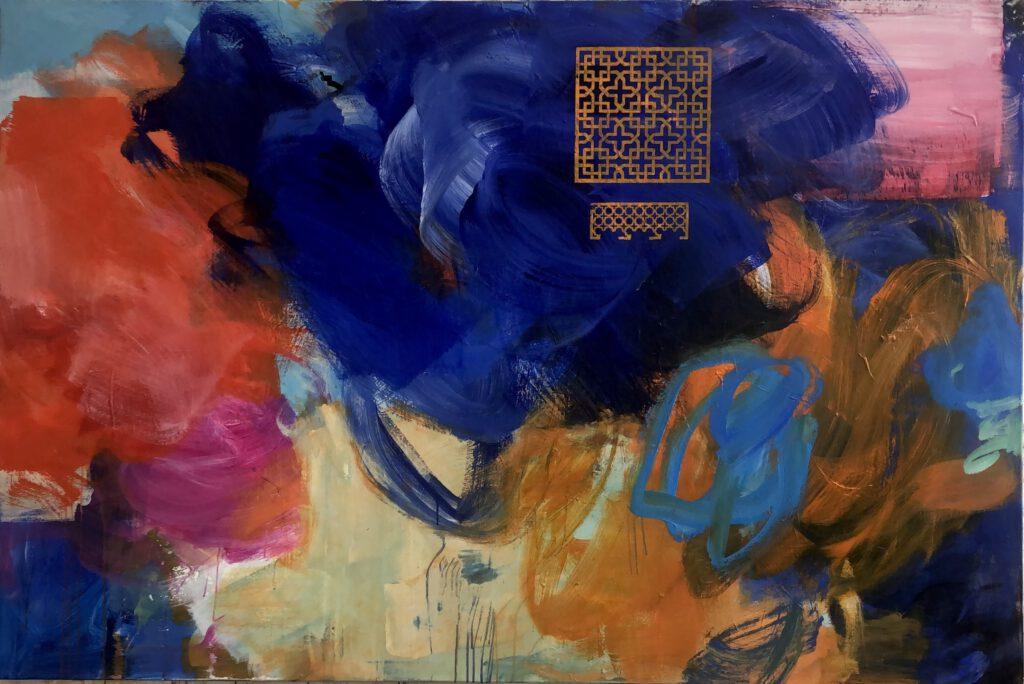 ohne Titel | Acryl auf Leinwand | 140 x 210 cm | 2020
