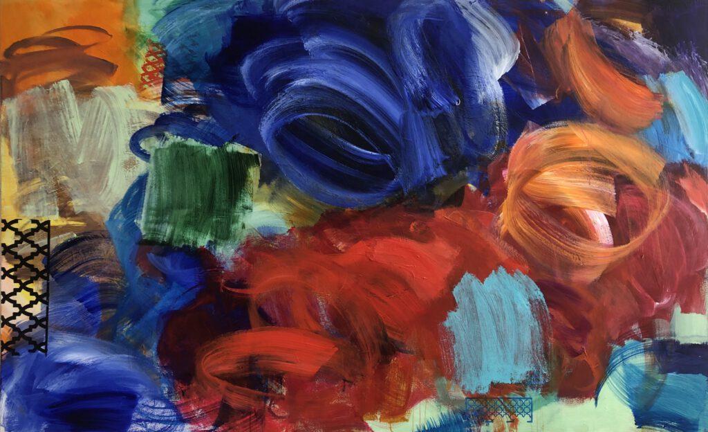 ohne Titel | Acryl auf Leinwand | 130 x 200 cm | 2020