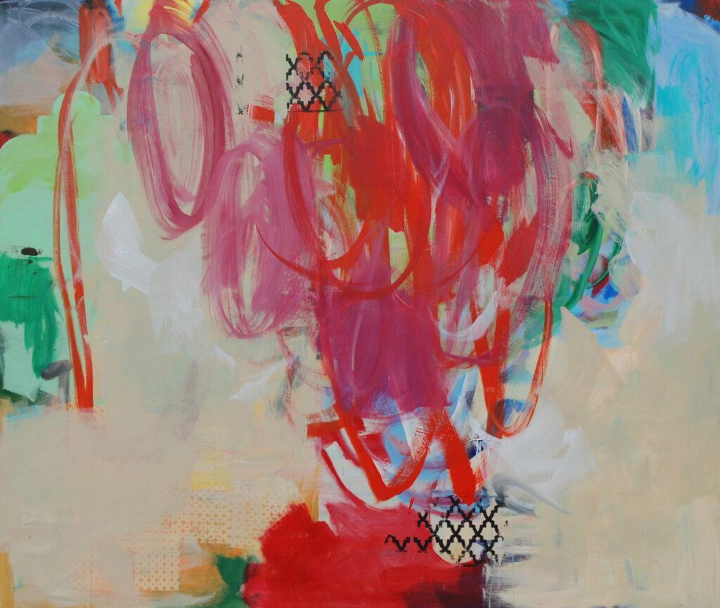 ohne Titel | 200 x 240 cm | Acryl auf Leinwand | 2020