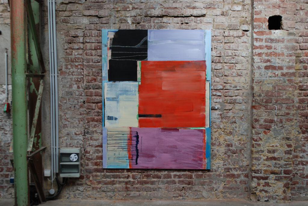 New Museum | 180 x 140 cm | Acryl auf Leinwand |2006