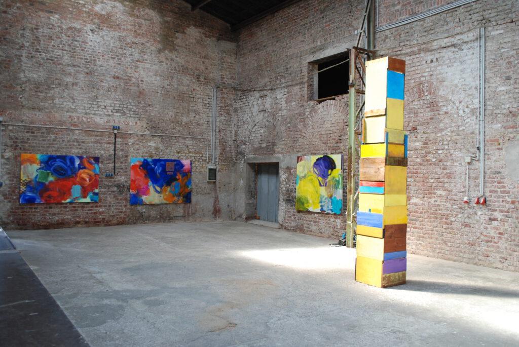 Ausstellungsansicht Rufffactory 2020