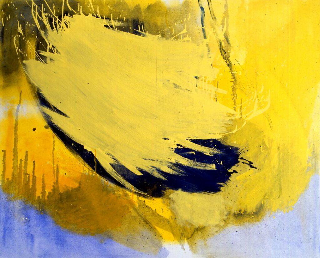 ohne Titel | Öl | 150 x 180 cm | 1987