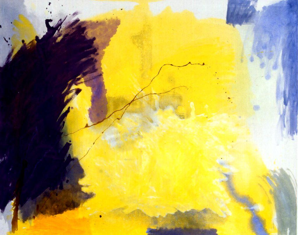 ohne Titel | Öl | 150 x 180 cm | 1988