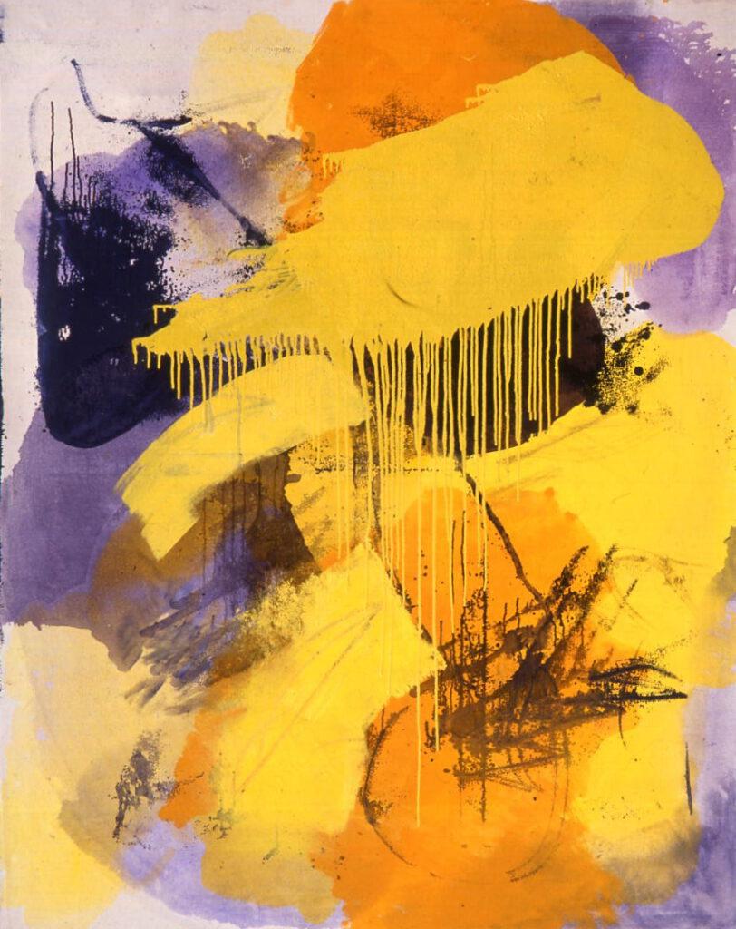 ohne Titel | Öl | 180 x 150 cm | 1990