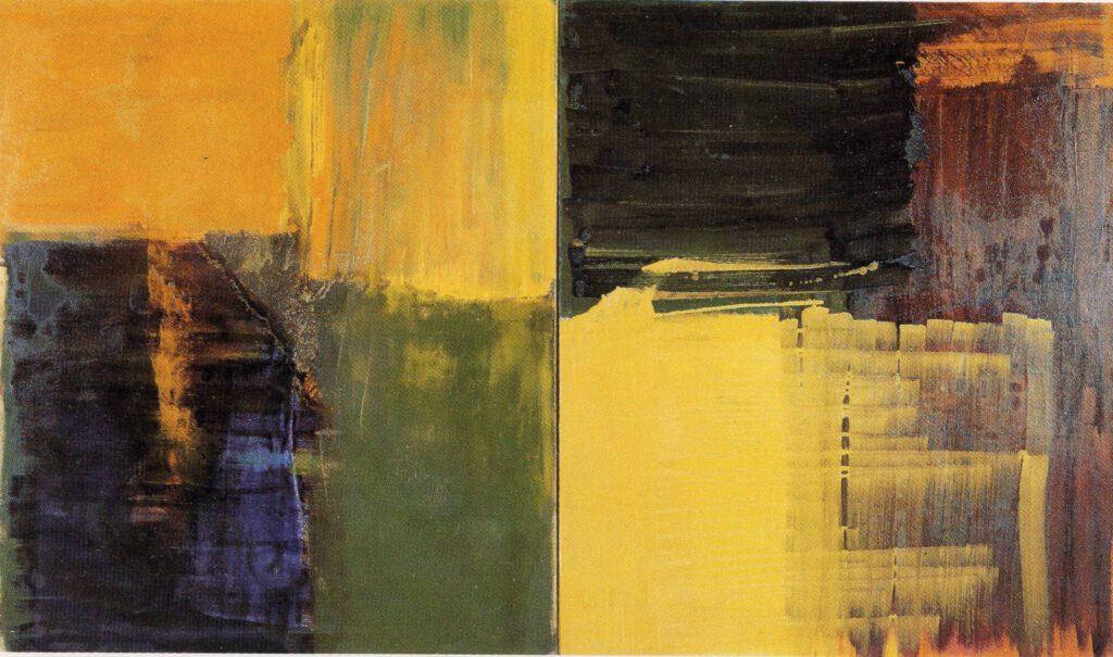 ohne Titel | Öl | 180 x 300 cm | 1990