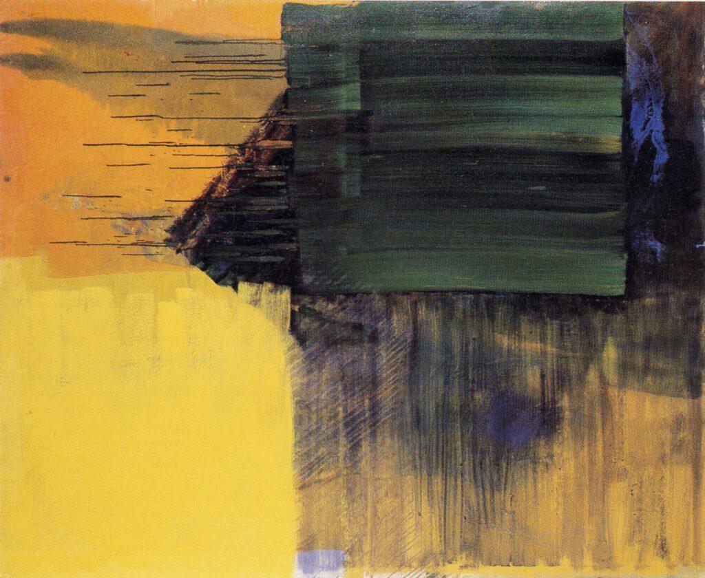 ohne Titel | Öl | 150 x 180 cm | 1990