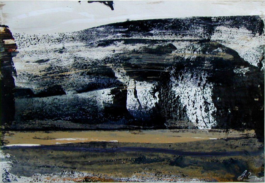 Hammamett | überarbeitete Fotografie | 20 x 30 cm | 2005