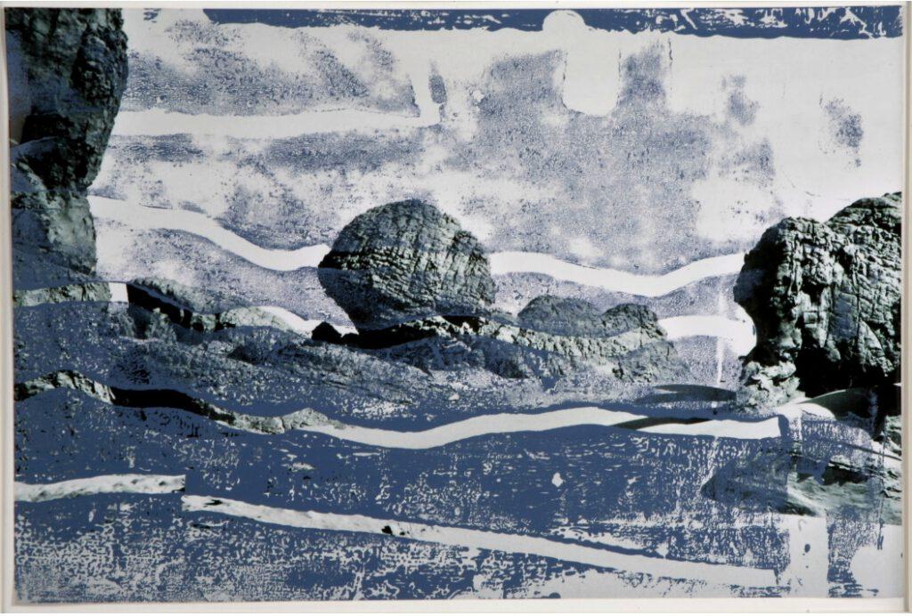 Sahara | überarbeitete Fotografie | 20 x 30 cm | 2006