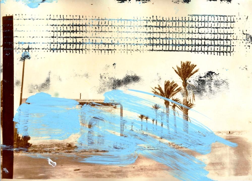 Hammamett | überarbeitete Fotografie | 20 x 30 cm | 2006
