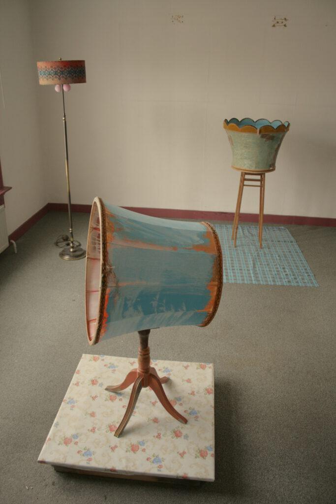 Burgenland | diverse Materialien | 2008 | innerhalb der Ausstellung: 'Waste not - want not' des Kunstvereins M.I.K.C. / Delden / NL
