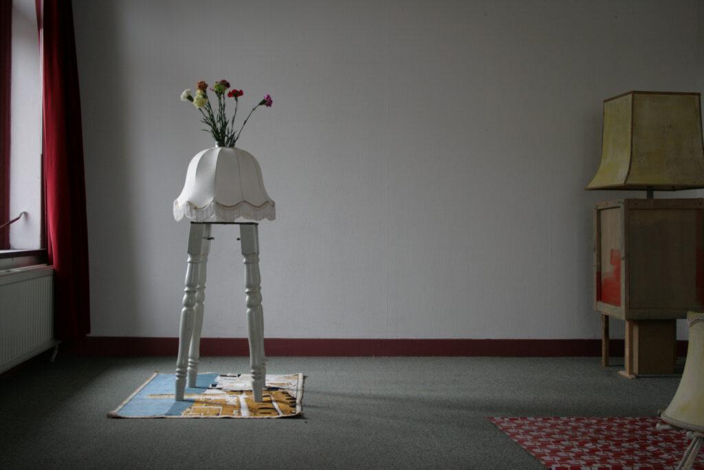 Burg Liebenstein | diverse Materialien | 2008 | innerhalb der Ausstellung: 'Waste not - want not' des Kunstvereins M.I.K.C. / Delden / NL