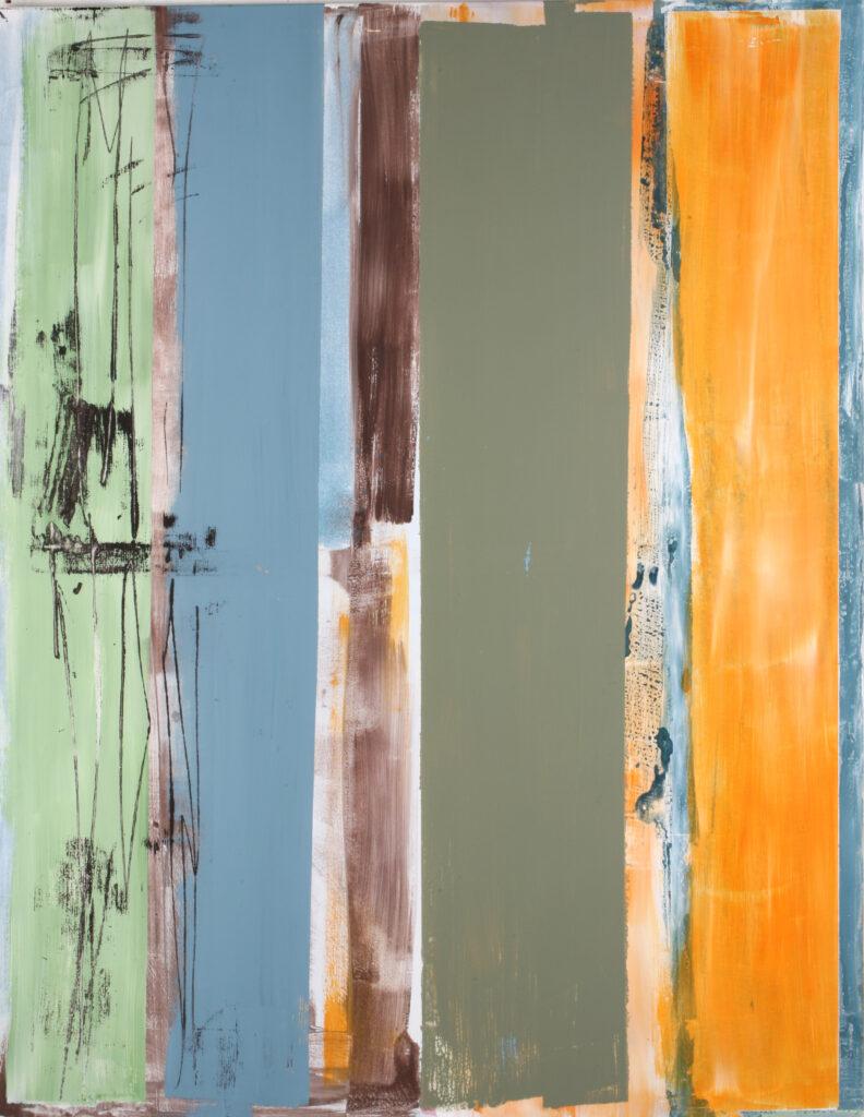 ohne Titel | Acryl | 180 x 140 cm | 2009