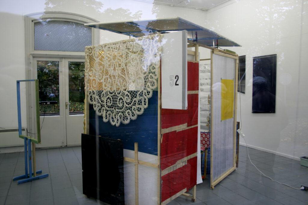 Cologne Int. Busstation | diverse Materialien | | M.I.K.C. - Perron 1 | Delden / NL | 2009