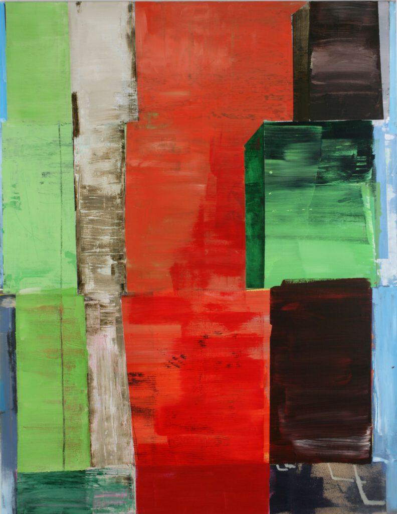 ohne Titel | Acryl | 180 x 140 cm | 2010