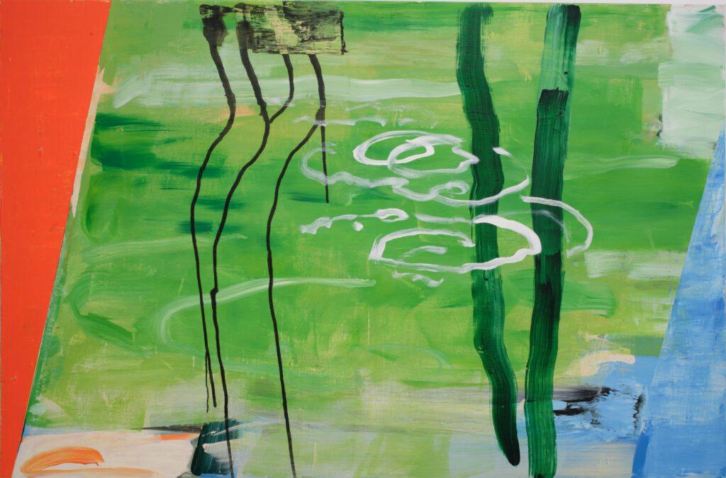 Seelandschaft   Acryl   130 x 210 cm   2013