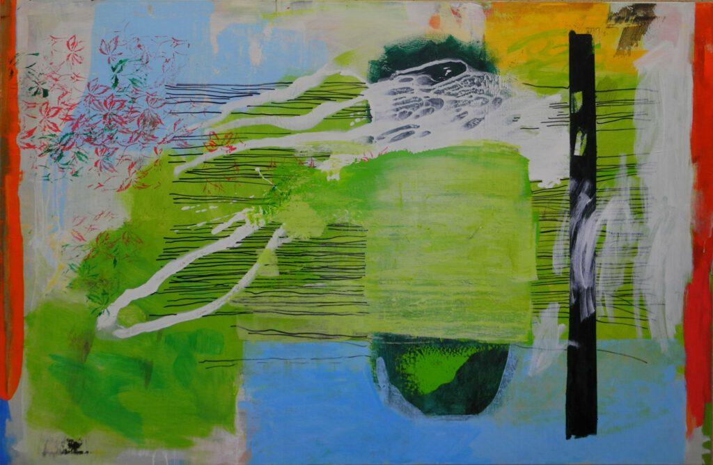 Chiemsee   Acryl   130 x 210 cm   2013