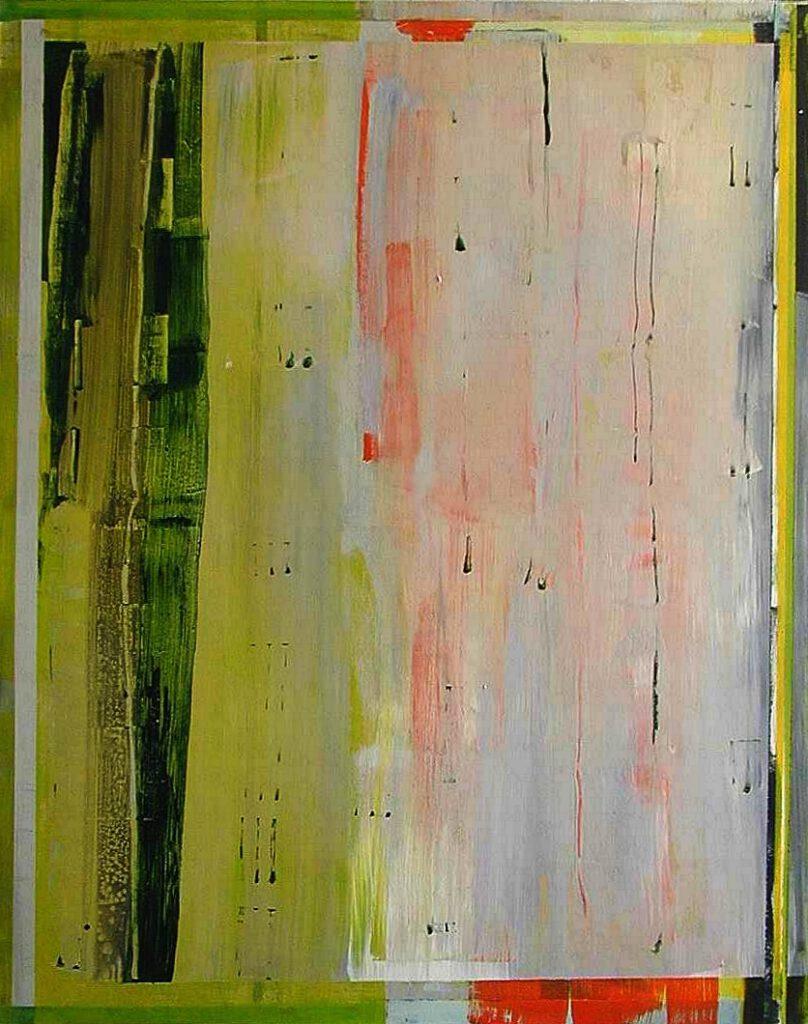 ohne Titel | Acryl | 180 x 150 cm | 2002
