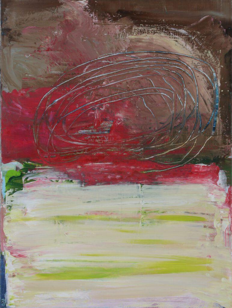 Rheinsteig   Acryl   80 x 60 cm   2007