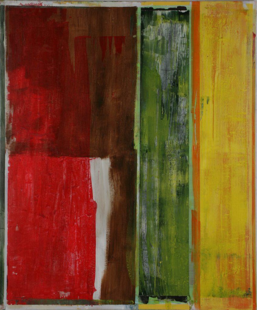 ohne Titel | Acryl | 180 x 150 cm | 2005
