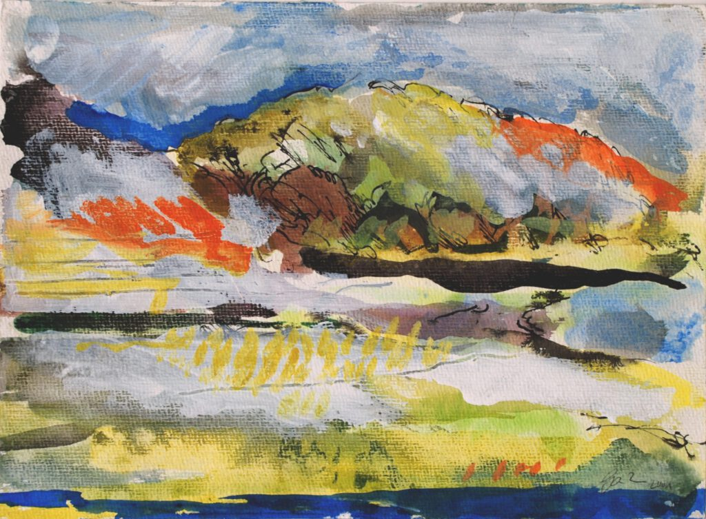 Lesbos | Aquarell | 24 x 32 cm | 1999