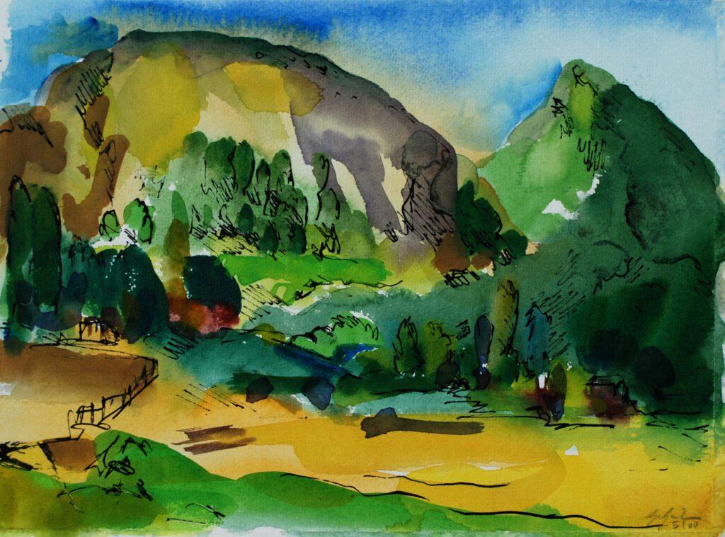 Völz | Aquarell | 24 x 32 cm | 2000